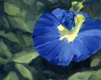 "Gokarna, 6"" x 6"", Original Oil Painting on Canvas"