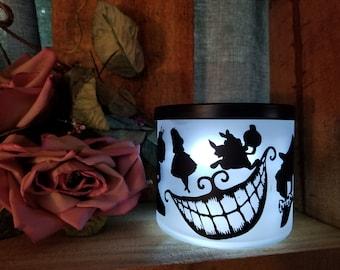 Alice In Wonderland Inspired Battery Operated Novelty Nightlight