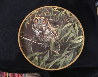 Dawn in the Willows Hamilton Collection Plate