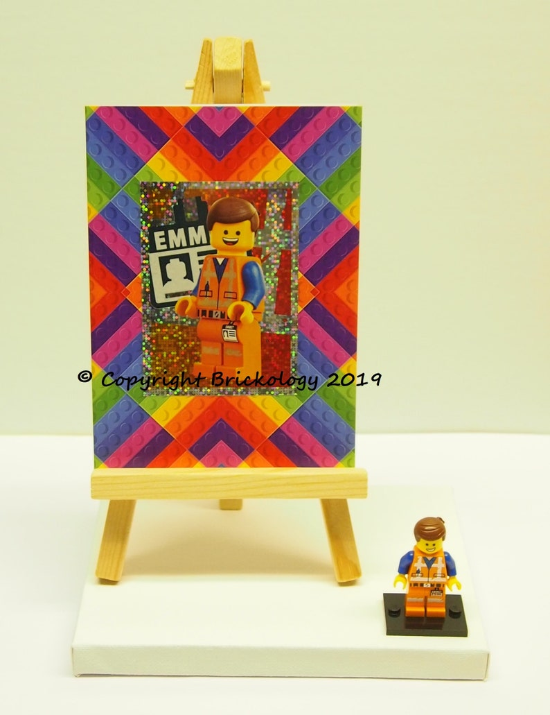 Birthday Card And Present Lego Movie 2 Sticker And Emmet Etsy