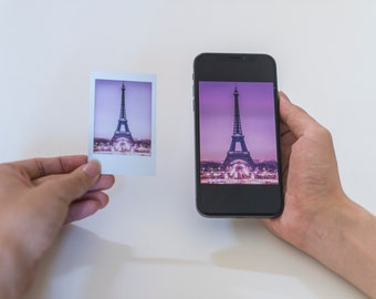 Print Digital Photos Into Polaroid Pictures Instant Custom Turn Camera Roll Intax Prints