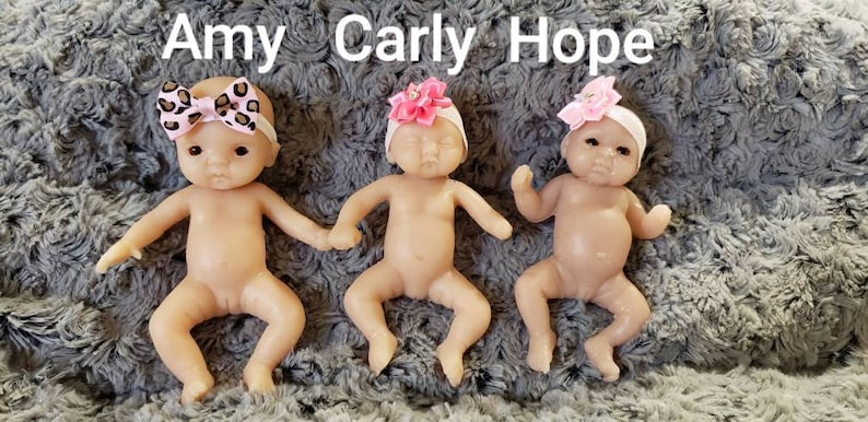 Amputee Full Silicone Mini 6 Baby Girl Amy Or 5 Baby Carly Or 5 Baby Hope