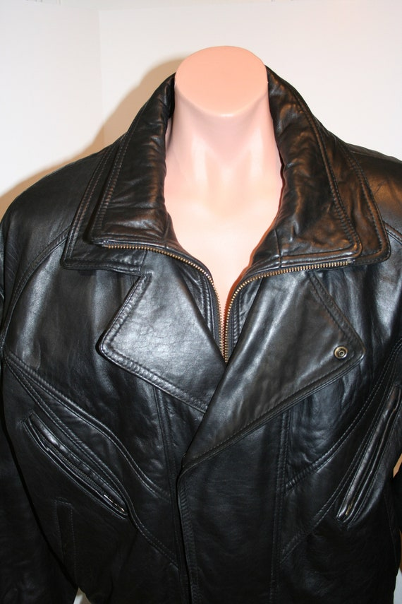 Traditional Trends Thinsulate Leather Jacket SIZE… - image 5