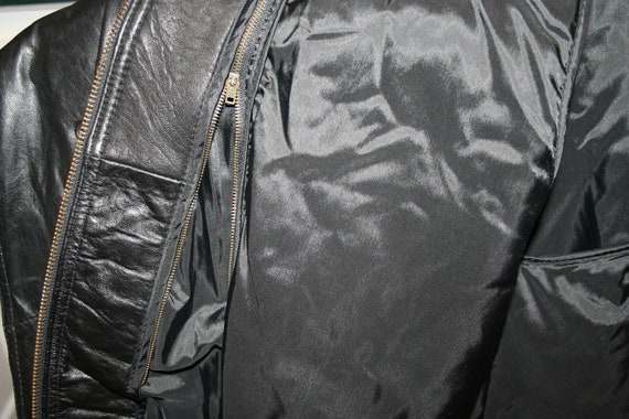 Traditional Trends Thinsulate Leather Jacket SIZE… - image 4