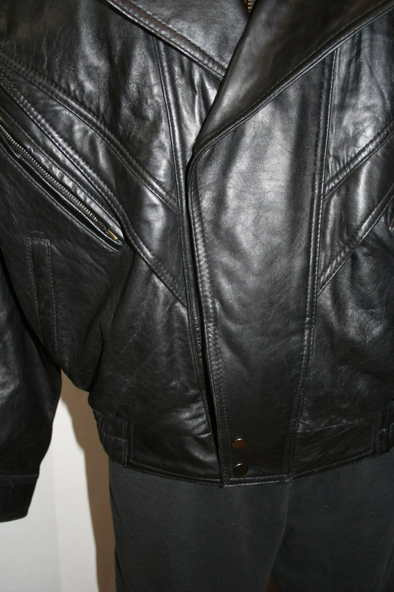 Traditional Trends Thinsulate Leather Jacket SIZE… - image 3