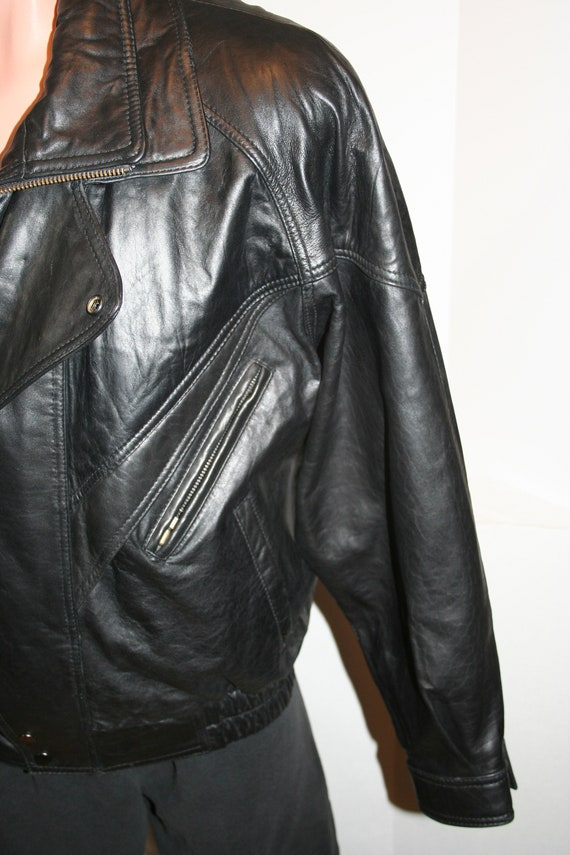 Traditional Trends Thinsulate Leather Jacket SIZE… - image 2