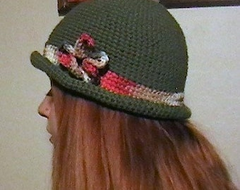 24a467be6 Items similar to Red genuine Effanem crusher hat made in the USA 100 ...