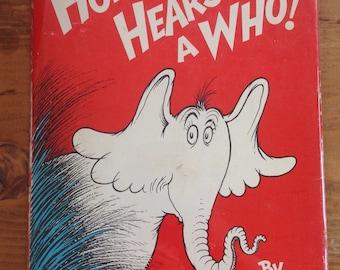 Horton Hears a Who by Dr Seuss, circa 1960