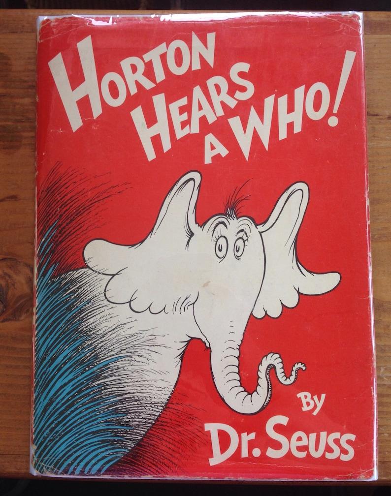 451085cd99868 Horton Hears a Who by Dr Seuss circa 1960