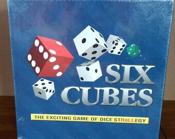 535f424210a NEW Vintage Six Cubes Dice Game - Factory Sealed   Never Opened