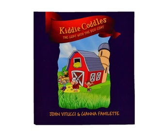 Kiddie Coddles -The Goat with a Magic Red Coat  - Children's Book
