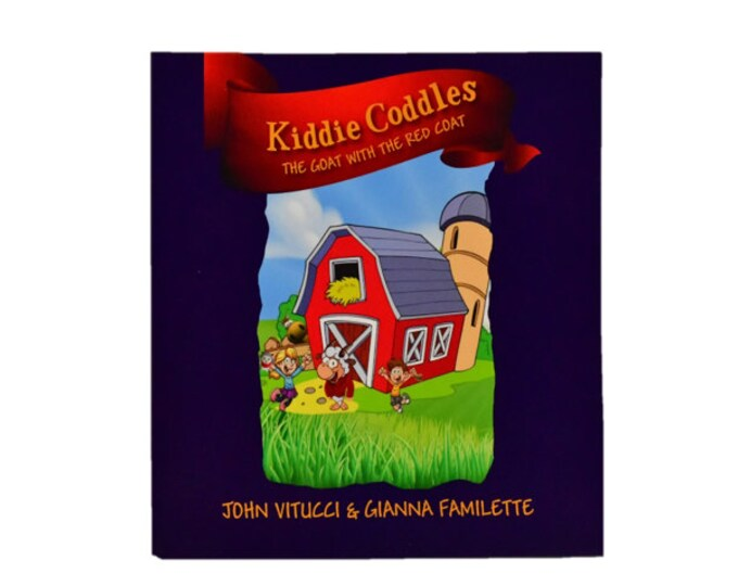 Featured listing image: Kiddie Coddles -The Goat with a Magic Red Coat  - Children's Book