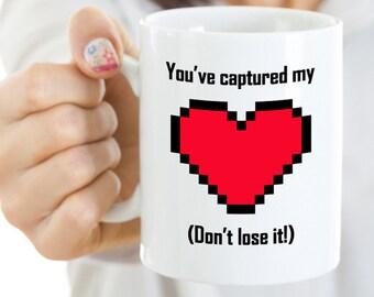 You've Captured My Heart - Gamer Funny Mug - Custom Mug