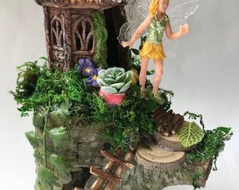 Tree house & yellow Fairy