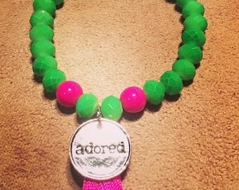 Colorblock Blessings Bracelets