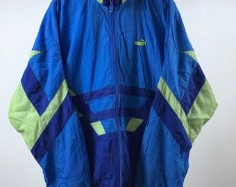 46015b6ad66af Nylon puma jacket | Etsy