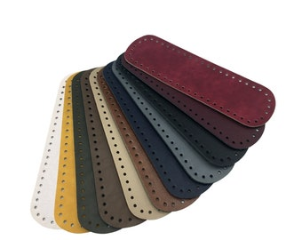 Pocket back, oval, 31 x 10 cm (artificial leather)