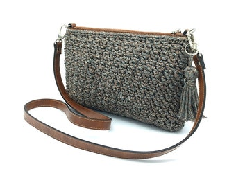 Crochet set Zippy bag + illustrated instructions DE/EN/FR