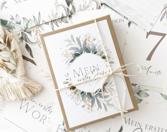 Milestone cards/ milestone card/ gifts for birth/ cards