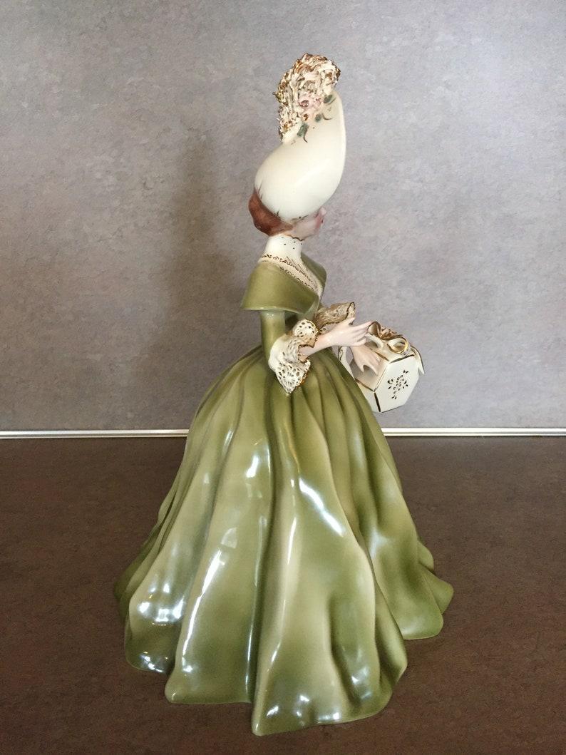 Florence Ceramics Lady Figurine Georgette Mint Condition