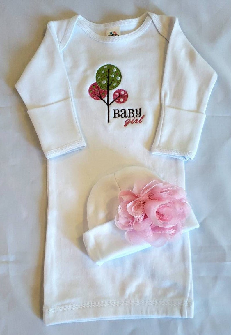 Baby Girl RomperBeanieBlanket Set with Toy;  Going Home Outfit