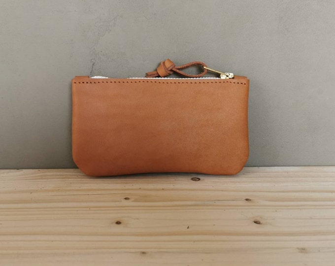 Small Leather Wallet / Small Leather Clutch / Mini Bag / Mini Purse
