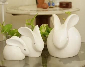 Rabbit Statue (Set of three)
