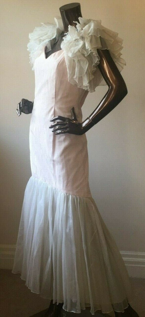 Gina Fratini Vintage original silk evening ballgow
