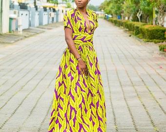 Ankara Dress, The Casablanca African Prints Dress, Cocktail dress