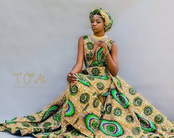 PROM 2020 African Print Dresses, Ankara Dresses For Prom, Dashiki Dresses for Prom, Kitenge Dresses for Prom, Custom African Dresses 2019