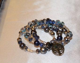 Memory Bracelet in blue