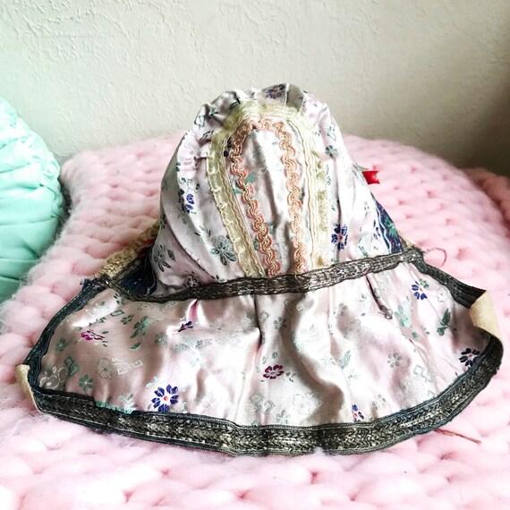 Victorian Baby Bonnet - Antique Bonnet - Sun Bonn… - image 2
