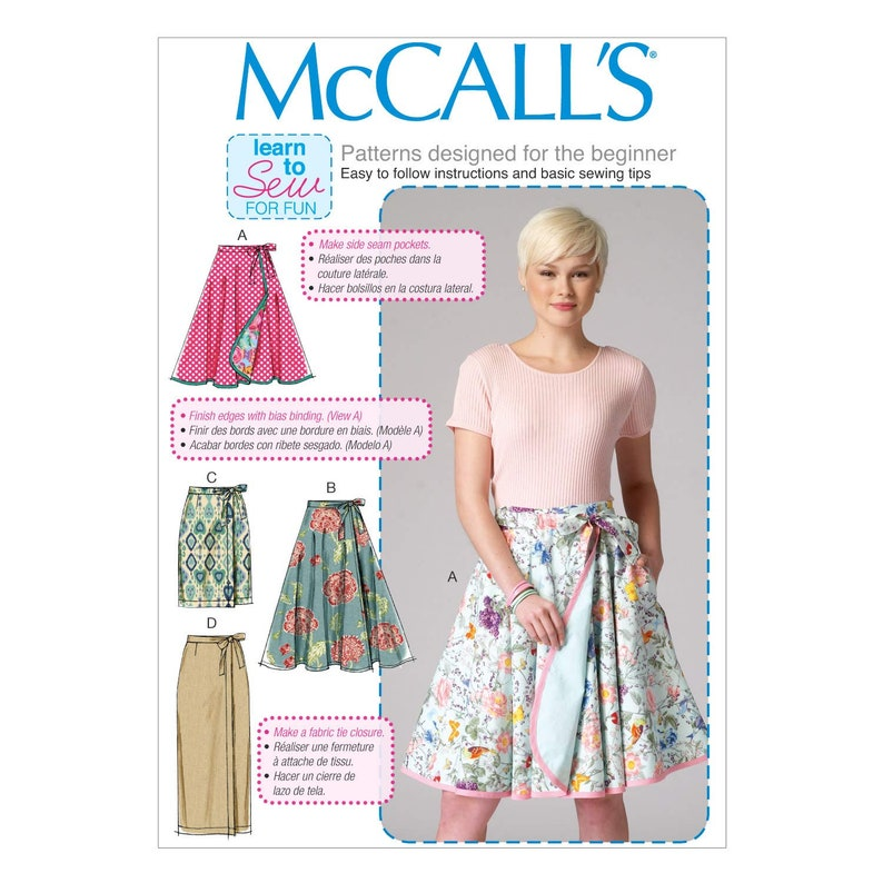 McCalls Ladies Easy Sewing Pattern 7606 Off The Shoulder Bodysuits /& Wrap...
