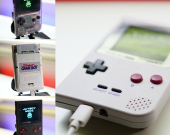 CUSTOMIZE YOUR OWN Gameboy Pocket! Backlit Rechargeable Mod! Please Read, all sales Made to order