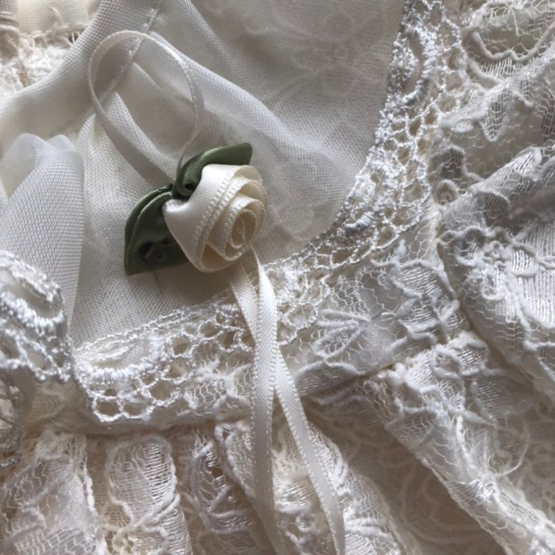 Vintage LA Princess Lace Dress 6-9m
