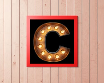 A Letter C ,C is for Digital,Download,Decor,Home,Office,Gift,Baby Shower,Gift,Green,Planet,Baby shower,Name,Word,Meaning