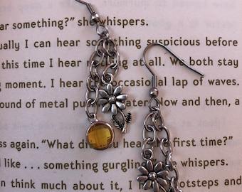 Daisy Birthstone Earrings