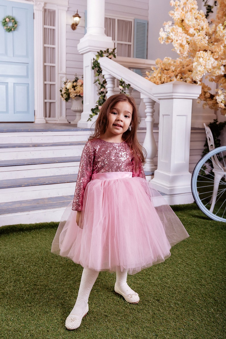 81a9257e226 Tutu flower girl dress Flower girl dress Pink amazing flower