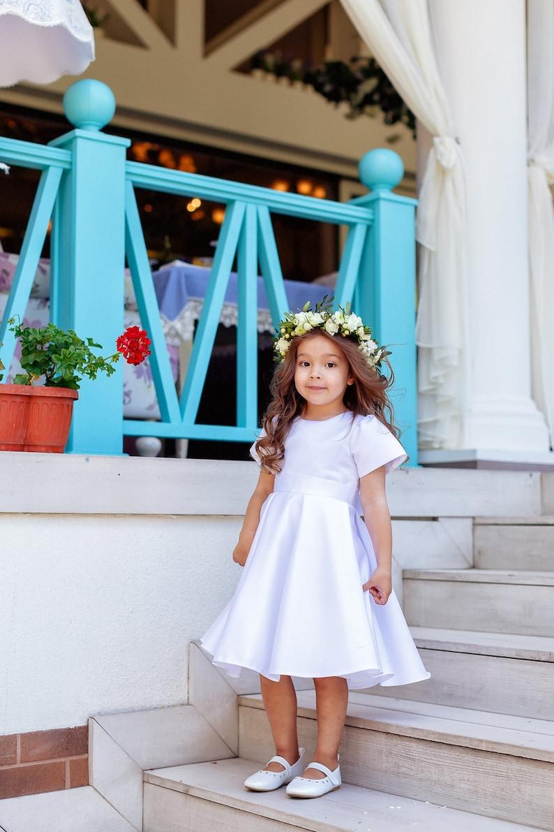 bloemenmeisje jurk