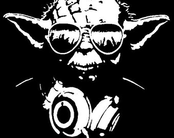 Headphone Yoda