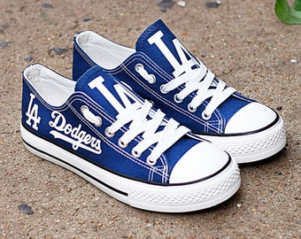 f707d1c48a Los Angeles Dodgers Custom Shoes