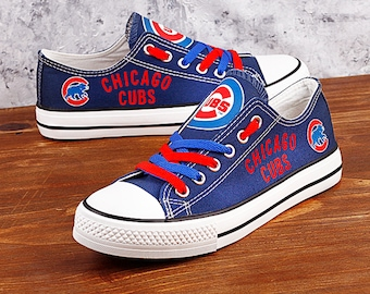 557b700c137 Chicago Cubs Custom Shoes