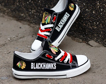 029ed1b45305d1 Chicago Blackhawks Custom Shoes