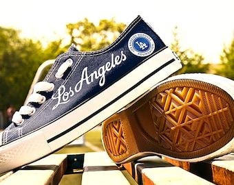 335d64bc54dd Los Angeles Dodgers Custom Shoes