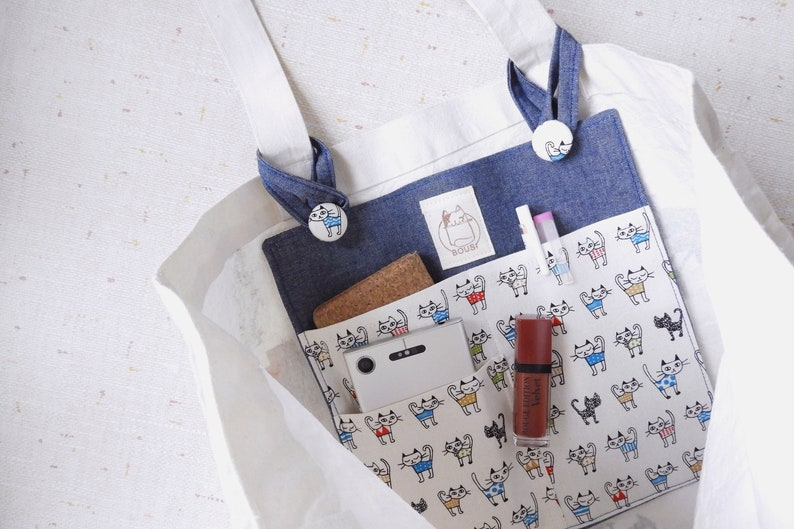 cute bag insert Tote bag organizer bag organize