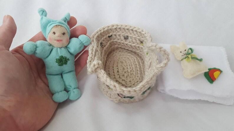 Dolls & Bears Apprehensive Wool Doll Cute Twee Knitted Toy Dolls