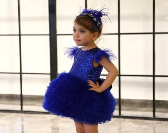 Royal Blue Belinda Dress