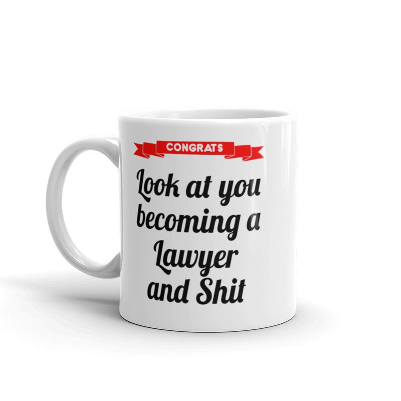 Law School Graduation Gift For Lawyer Mug