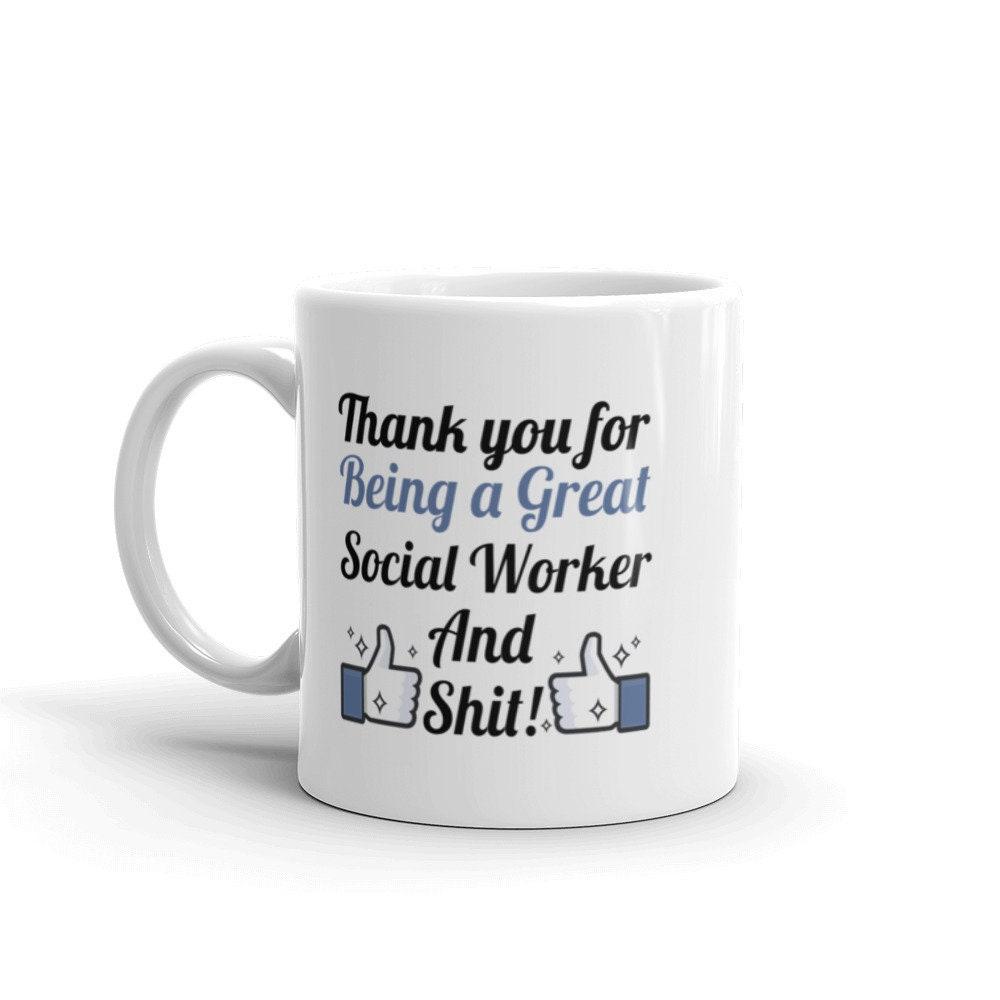 social worker gift for social worker gift idea funny social | etsy