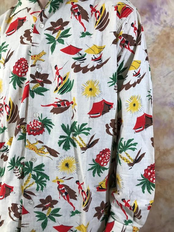 Men's Ski Hawaii Long Sleeve T Shirt